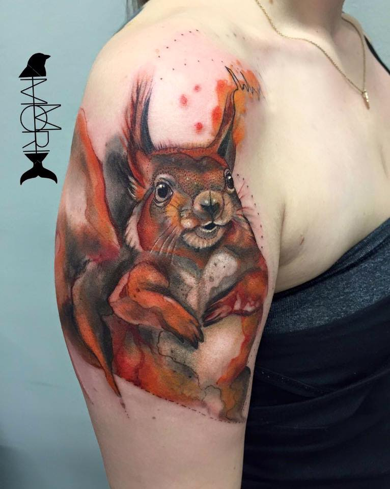 white ink tattoo berlin
